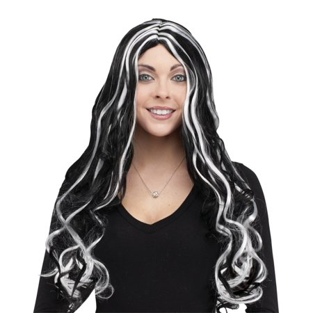 Cheap Fun Wigs (Fun World Women Long Curly Wig, One-Size)