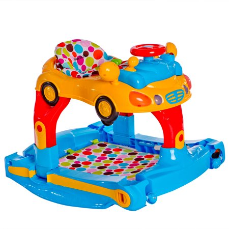 Dream On Me Joyride 3-in-1 Walker, Rocker and Push Toy, Choose your color
