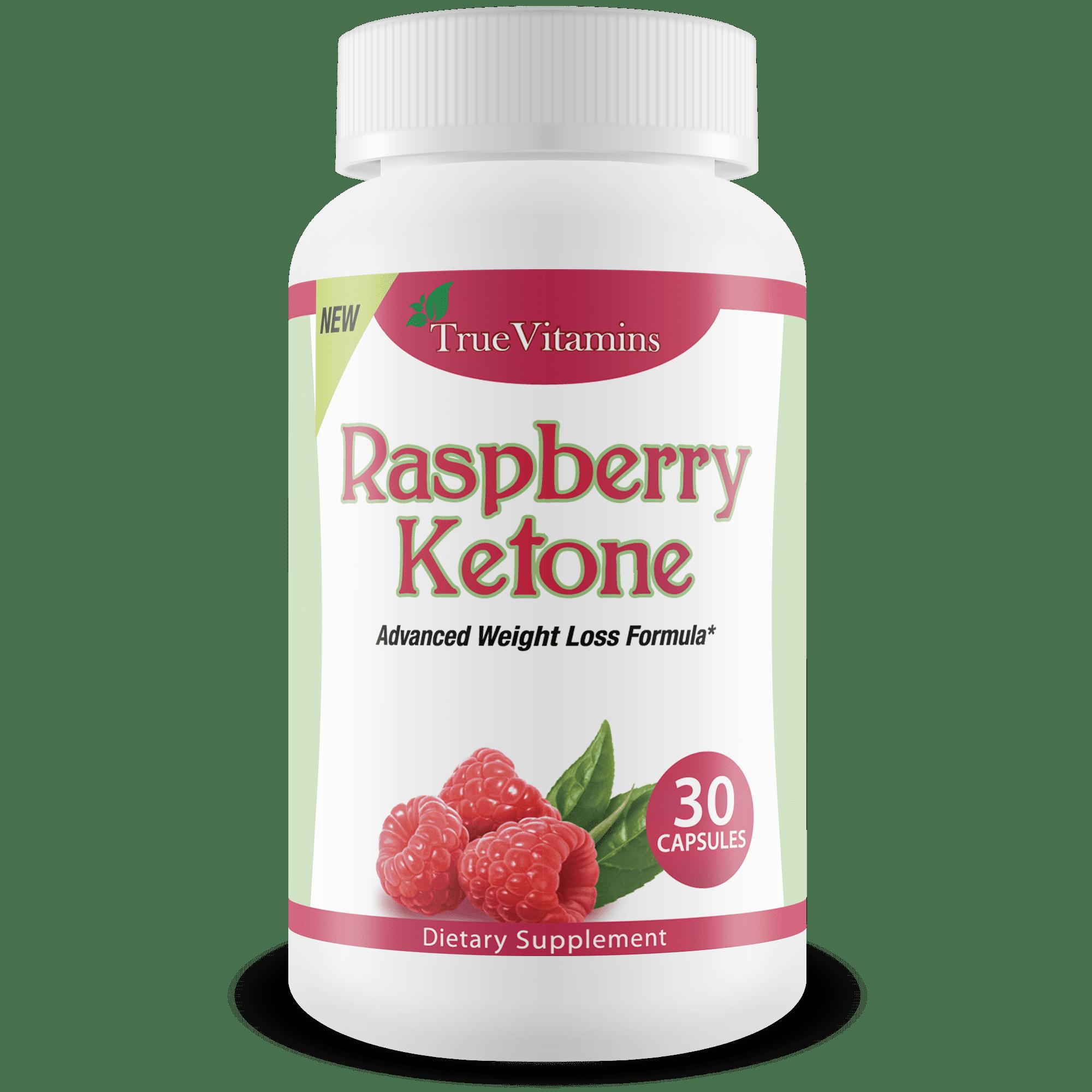 True Vitamins Raspberry Ketones All Natural Weight Loss