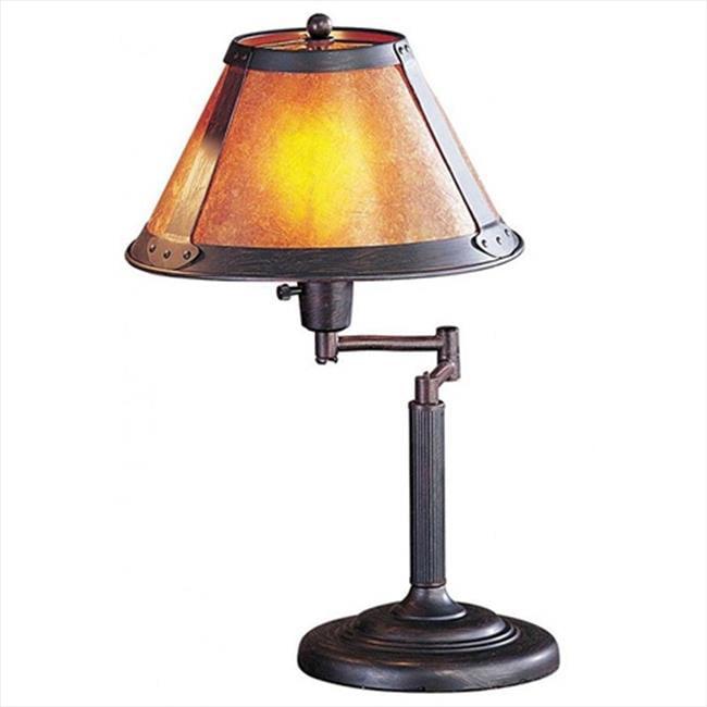 Cal Lighting Mica Swing Arm Table Lamp