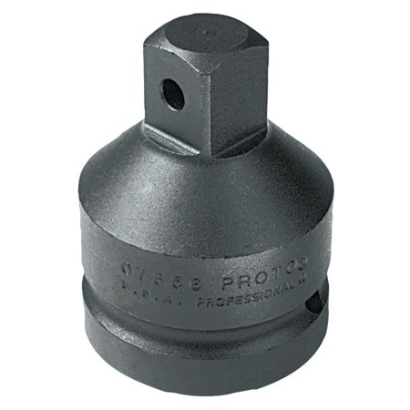 Proto Impact Socket Adapters, 1 in (female square); 3/4 in (male square) drive, 2 7/8