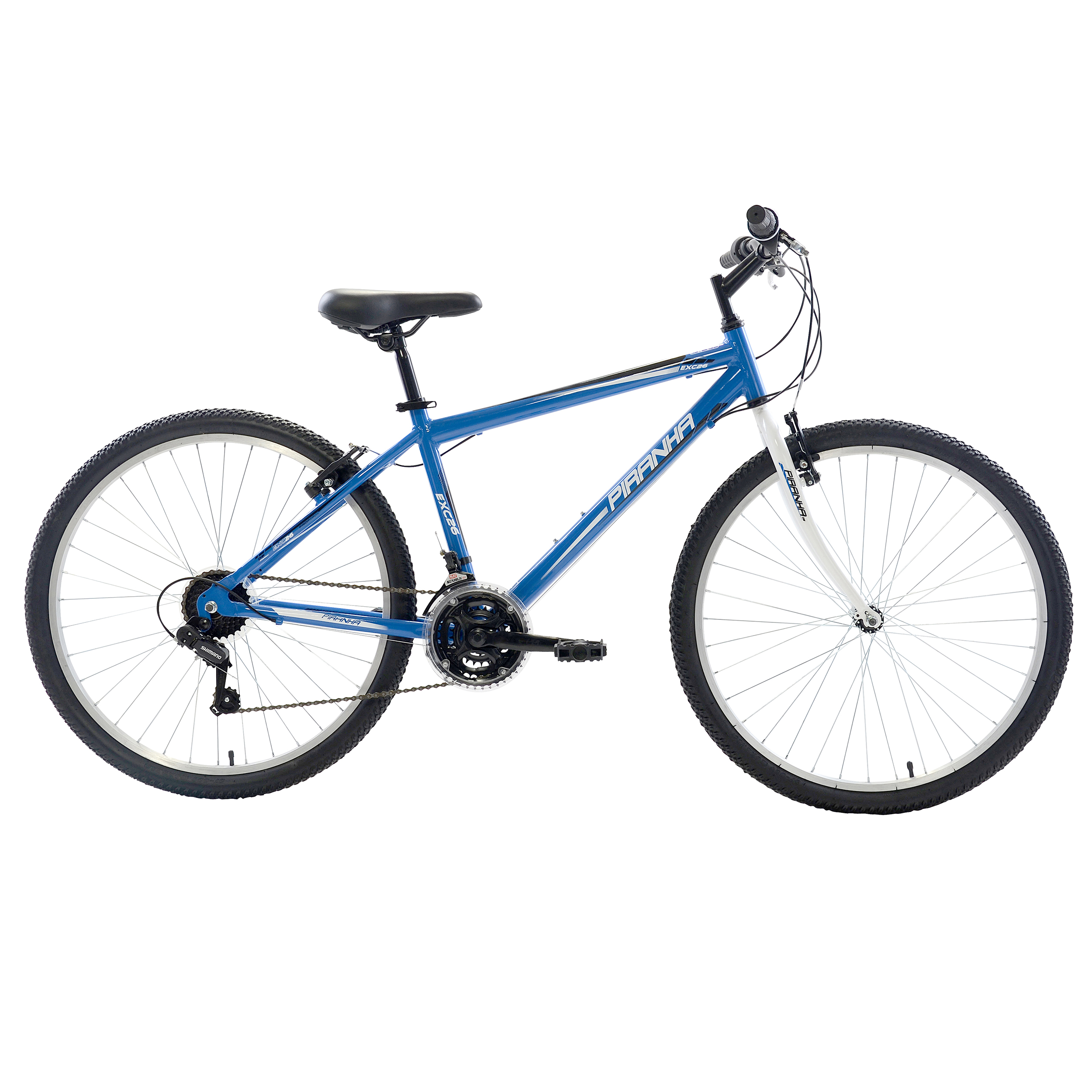 Piranha 21 Speed Rigid MTB - 26 inch wheels - 18 inch frame - Men's Bike