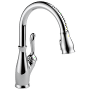 Delta Leland Single Handle Pull-Down Kitchen Faucet in Chrome 9178-DST