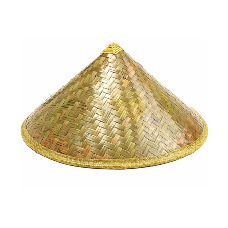 Chinese Sun Hat Brimmed Bamboo Straw Hat Tourism Farmer Unisex Fishing Hat,Bamboo color - Chinese Bamboo Hat