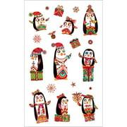 Mrs. Grossman's Stickers-Festive Penguins