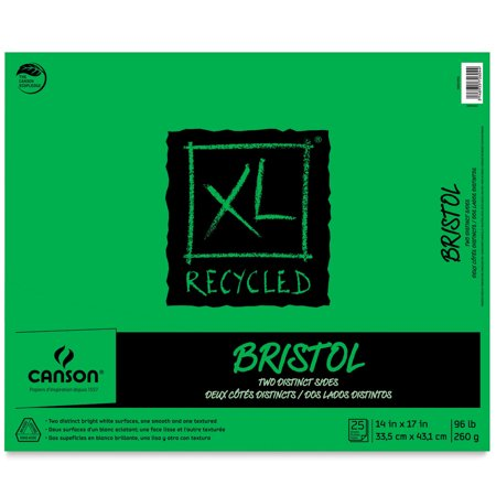 Canson XL Recycled Bristol Pads (Bristol Pad)