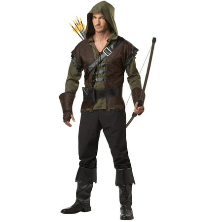 Robin Hood Men's Adult Halloween Costume - Mr Brown Halloween Costume