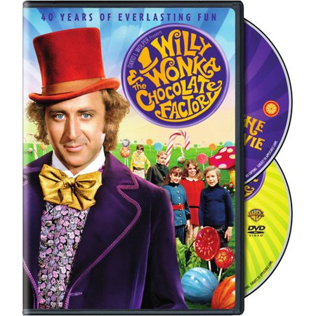 Willy Wonka and the Chocolate Factory (40th Anniversary Edition) (DVD) (Willy Wonka Costume Women)