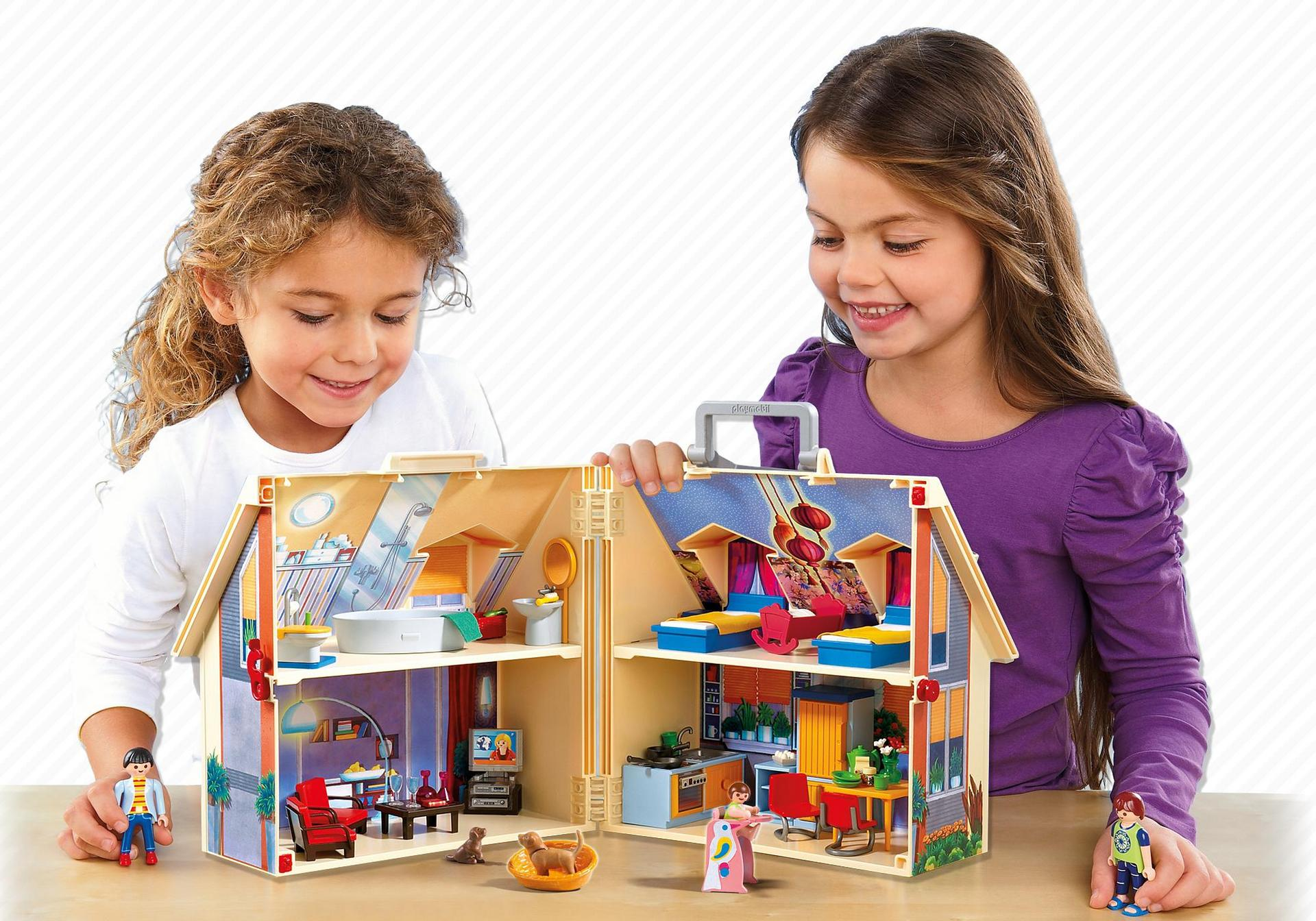 Playmobil Take Along Modern Doll House Walmart Com