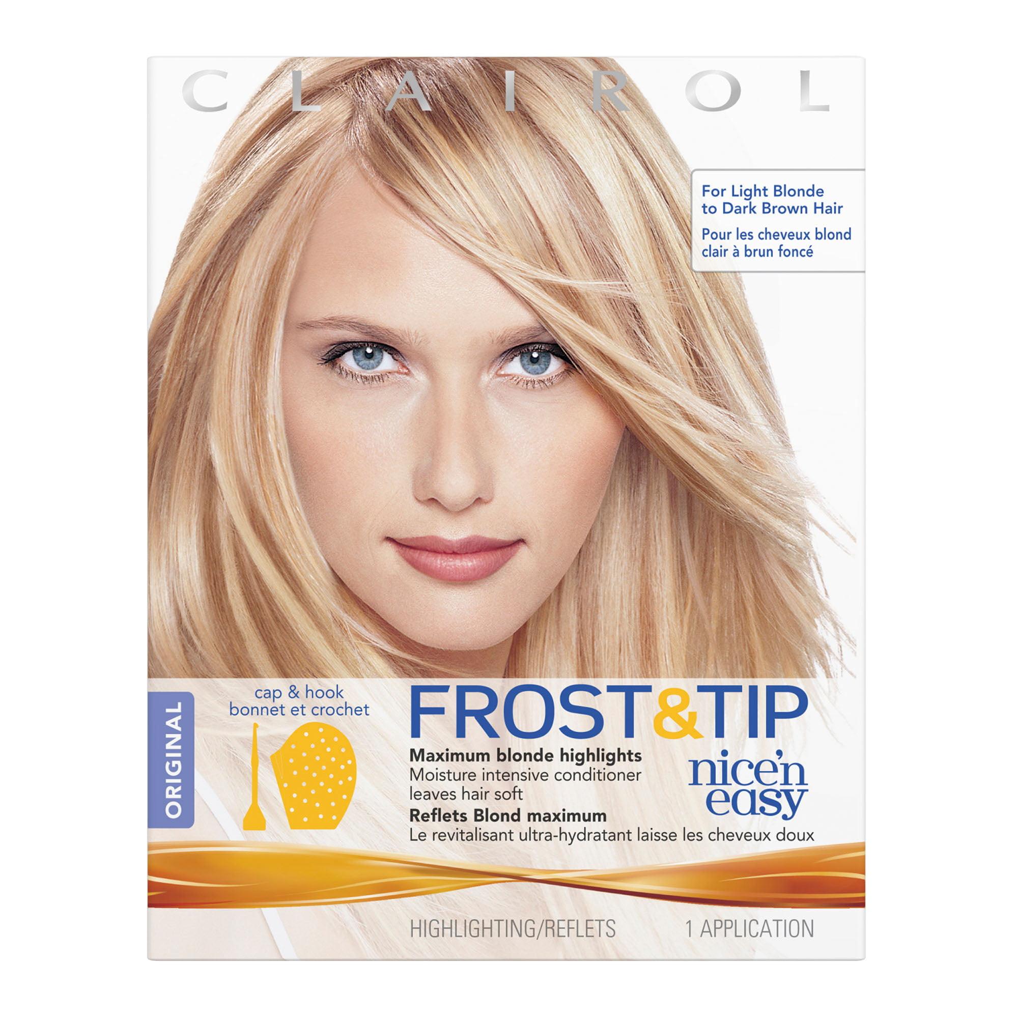 Clairol nice n easy frost tip original hair highlighting kit clairol nice n easy frost tip original hair highlighting kit walmart pmusecretfo Choice Image