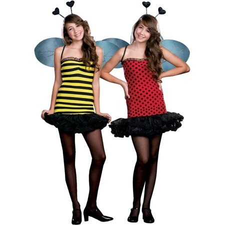 Buggin' Out Reversible Teen Halloween Costume - Makeup And Hair Ideas For Halloween
