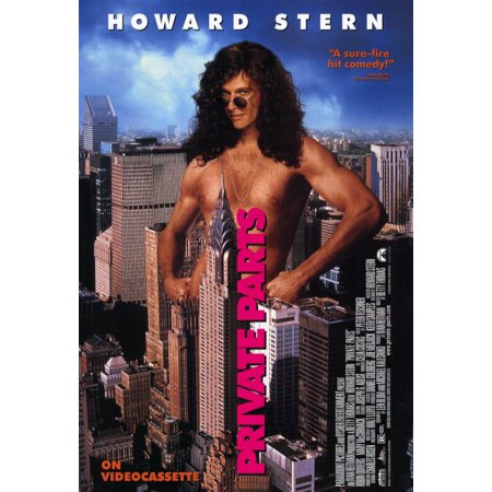 Private Parts (1997) 11x17 Movie Poster](Halloween 1997)