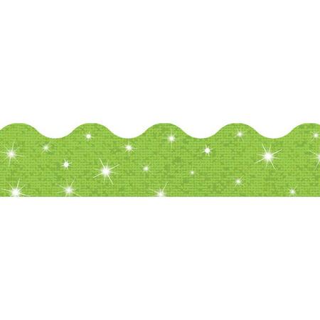 Lime Sparkle Terrific Trimmers (10 Piece), 2-1/4