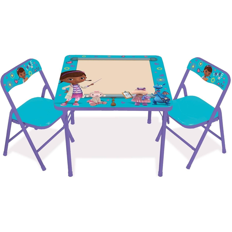 Disney Doc McStuffins On the Go Erasable Activity Table Set with 3 Markers  - Walmart.com