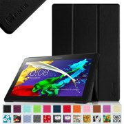 Fintie Lenovo Tab 2 A10 / Tab 3 10 Business 10.1 Inch Tablet Case Smart Shell Cover with Auto Sleep/Wake, Black