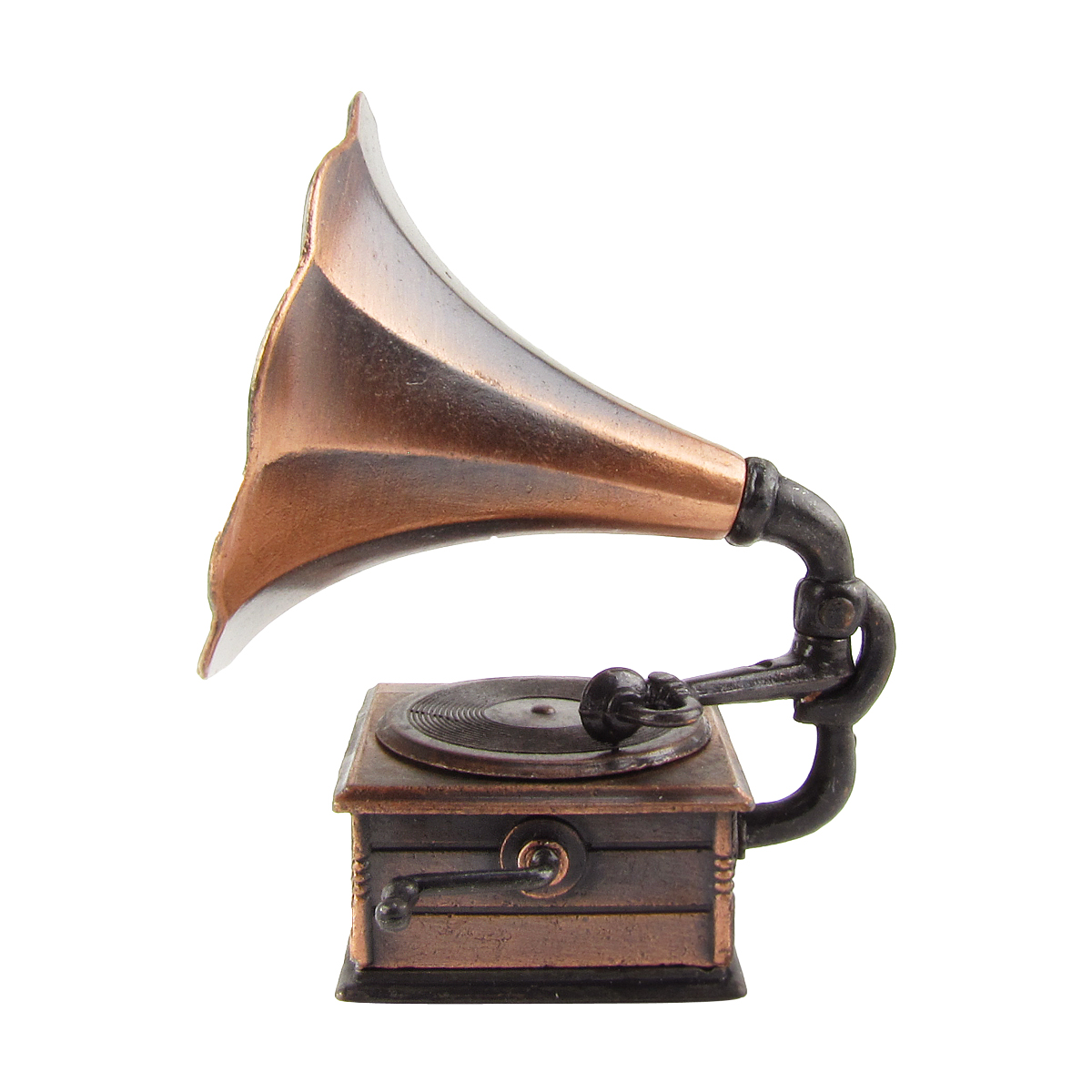 1:12 Scale Miniature Phonograph Dollhouse Accessory Gramophone Pencil Sharpener