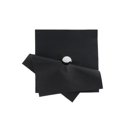 4pcs Glass Fiber Gas Cooker Protection Pad Reusable Burner Cover Liner Mat Boiler Face Clean Pads Tools of Home
