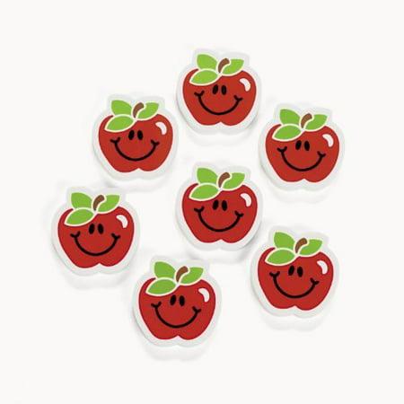 Apple Erasers (2 dz)