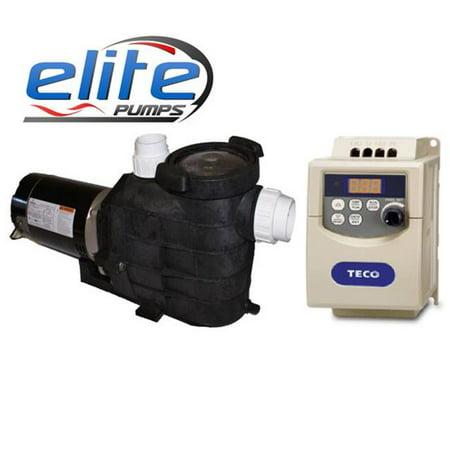 Elite Pumps 11400EPPV96 Primer Pro Variable Series GPH External Pond Pump](Ellie Pumps)