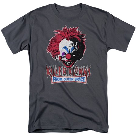 Killer Klowns From Outer Space Rough Clown Mens Short Sleeve - Killer Klowns From Outer Space Costume