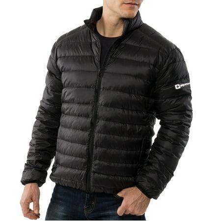 AlpineSwiss Niko Packable Light Mens Down Alternative Puffer Jacket Bubble Coat Mens Bubble Vest