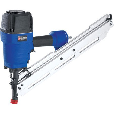 Campbell Hausfeld 34 Degree Clipped Head Framing Nailer Kit (NS349099AV) Clipped Head Stick Nailer