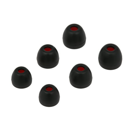 Replacement Earbud Earcaps L M S Size In-ear Earphone Tips 3.8mm Silicone Ear Caps Ear Sleeve For Sony Headphones, 3 Pairs - image 1 of 5
