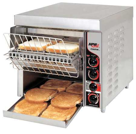 APW Wyott FT-1000H 208V Radiant Conveyor Toaster