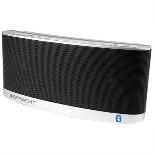 Spracht WS4014 Blunote 2 Portable Wireless Bluetooth Speaker - Black & Silver