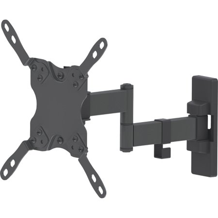 Manhattan Flat Panel Tv Double Arm Articulating Wall Mount For 13  42  Displays