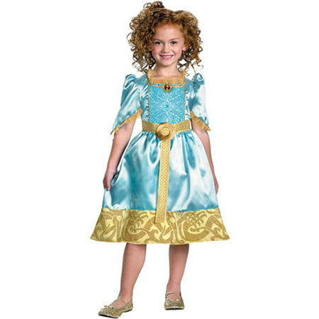 Womens Merida Brave Costume (Girl's Merida Classic Halloween Costume -)