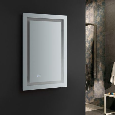 Fresca Santo Bathroom Mirror With Led Lighting And Defogger