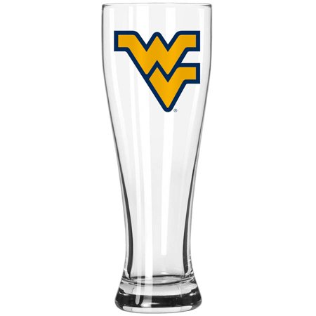 Boelter Brands NCAA West Virginia University Mountaineers 23-Ounce Grand Pilsner with Full Color Team Logo