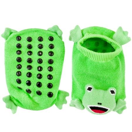 Frog Body Infant Booties
