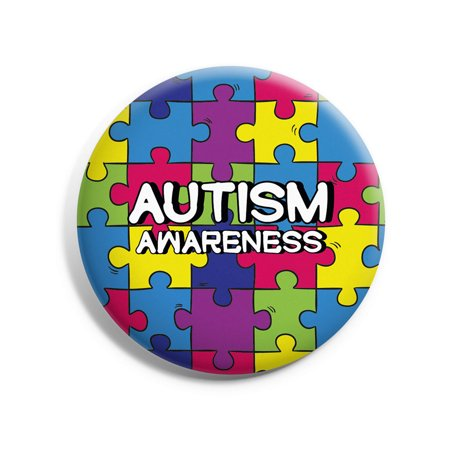 Awkward Styles Autism Pin Autism Awareness Pins Bulk Puzzle Pins Autism Awareness Products Autism Awareness Lapel Pin Colorful Autism Ribbon Pin Gifts for Autism Mom Autism Dad Autism Kids