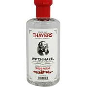 Thayers Witch Hazel Aloe Vera Formula Alcohol-Free Toner, Rose Petal 12 oz (Pack of 6)