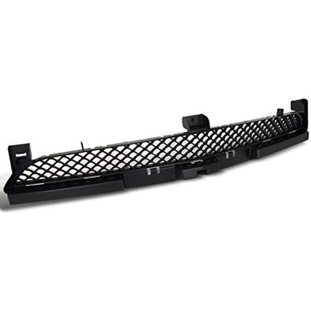 Black Front Lower Bumper Mesh Grill Grille Assembly Made For And Compatible With 2011 - 2014 Dodge Charger 11 12 13 14