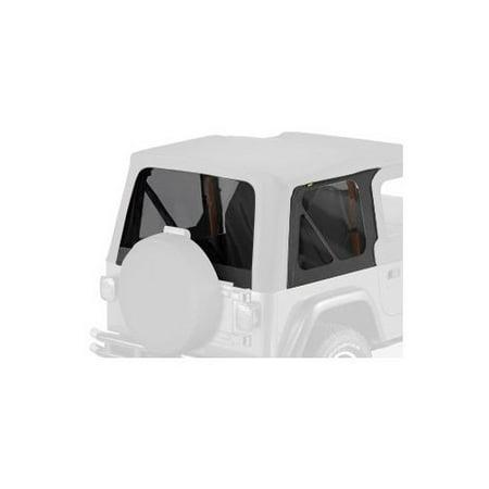 Bestop 58121-15 Jeep Wrangler Window Kit Tinted, Black Denim