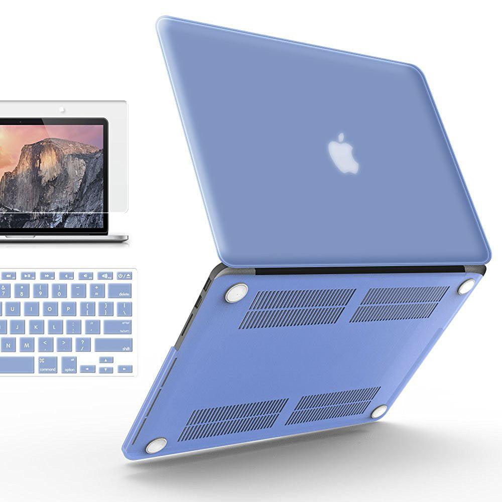"Hard Case Cover Keyboard Skin Screen Proctector For MacBook Pro 13.3/"" 15.4/"""
