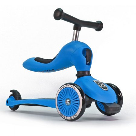 Ride Scooter Bike - Scoot and Ride 2-in-1 Bike and Kick Scooter - Blue