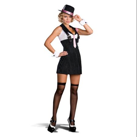 Dirty Sexy Money Gangster Girl Costume Adult (1920 Girl Gangster)