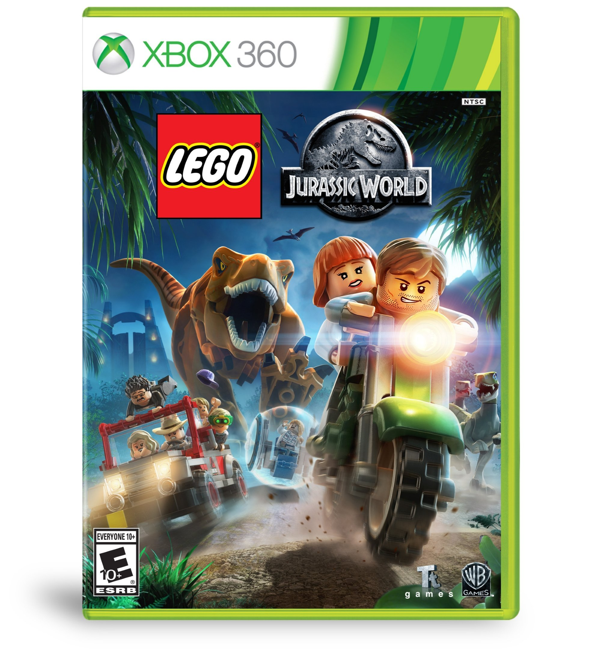 Wb Lego Jurassic World - Action/adventure Game - Xbox 360 (1000565139)