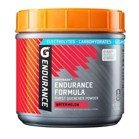 Gatorade Endurance Formula Powder, Watermelon, 32 oz
