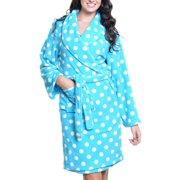 Angelina Premium Micro-Fleece Bathrobes (1-Pack)