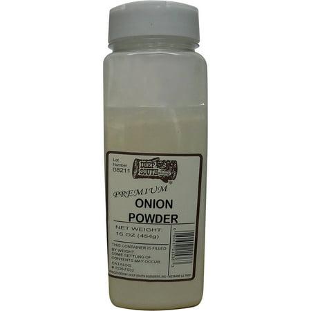 Deep South Blenders Onion Powder, 16 oz Deep South Blenders Onion Powder is freshly ground for a freshness that you can taste
