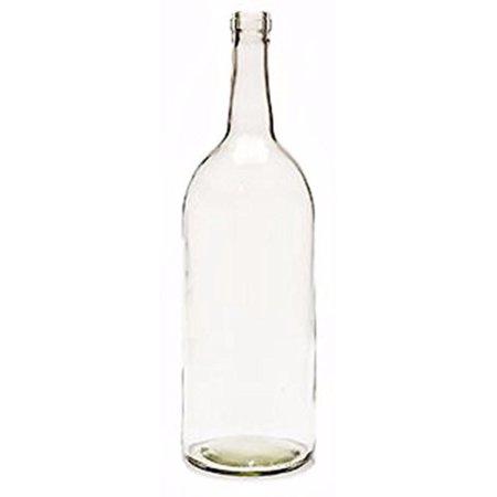 1.5 Liter Clear Claret/Bordeaux Bottles, 6 per case