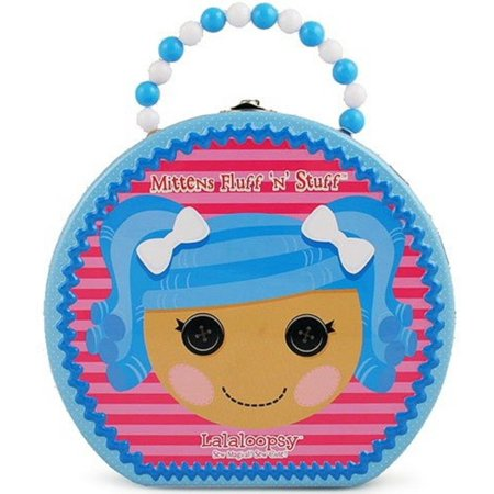 Lalaloopsy Round Tin Carry All Hatbox - Mittens Fluff n