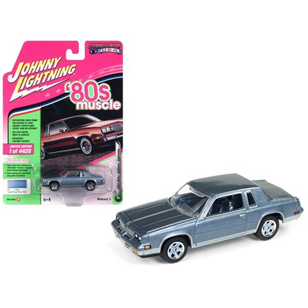 """1983 Oldsmobile Cutlass Hurst Light Royal Blue Poly """"80"""