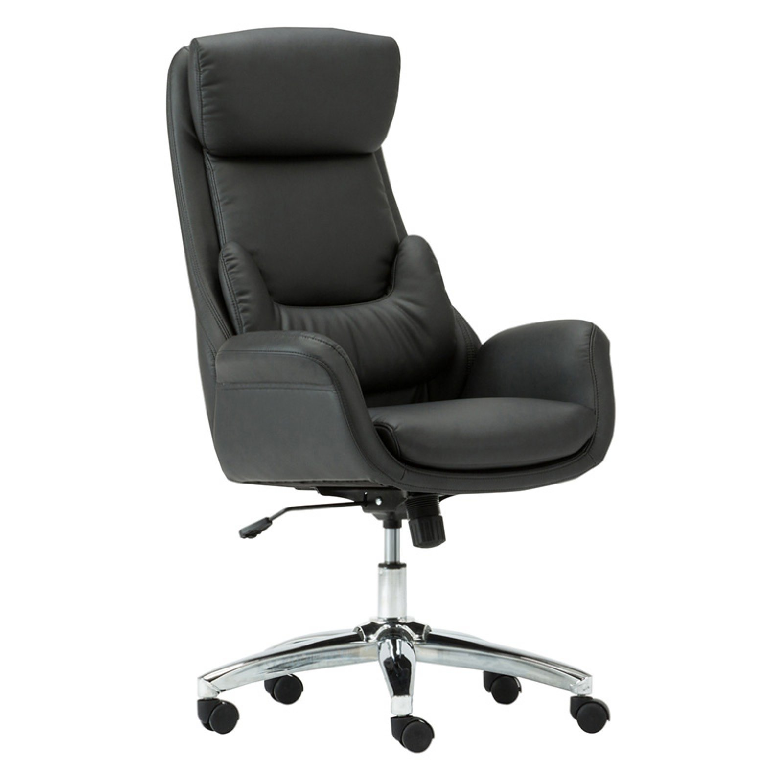 Techni Mobili Ergonomic Home Office Chair with Lumbar Support