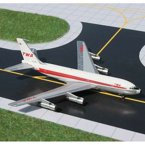 Gemini Jets Diecast TWA B720B Model Airplane